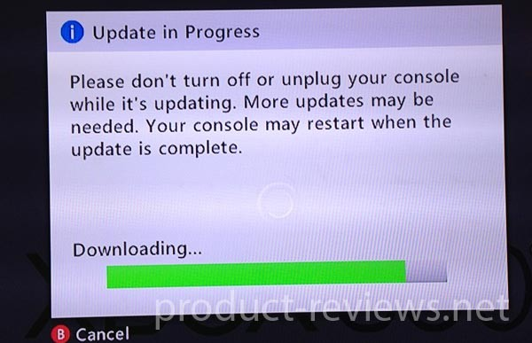 New Xbox 360 dashboard update release time