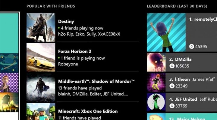 New Xbox One friends list after won't load problems