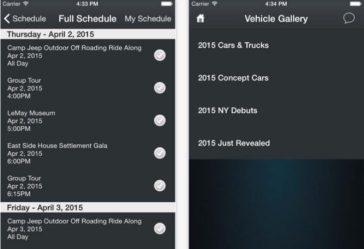 New York Auto Show 2015 updates plentiful