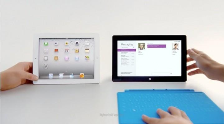 New iPad vs. Surface RT, aggressive summer 2013 marketing