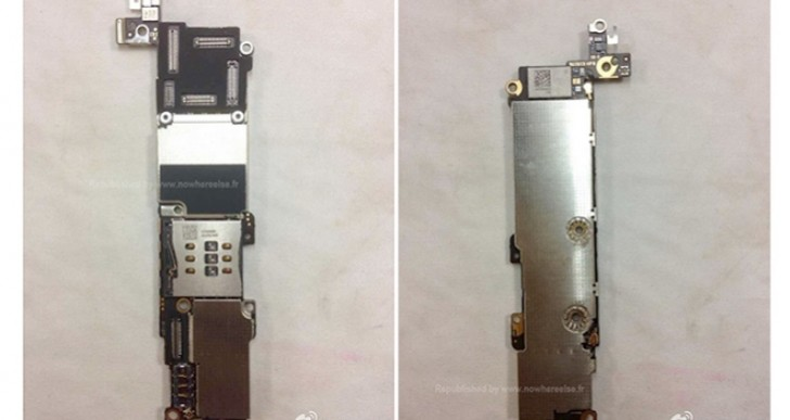 New iPhone 5C features signaled by board