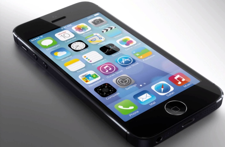 New iPhone 5S home button render
