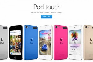 New iPod touch 6th generation screen size