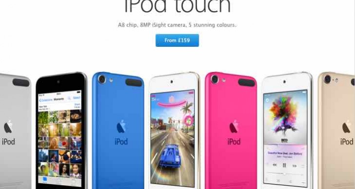 iPod touch 6th generation Vs Sony NW-ZX2 for desirability