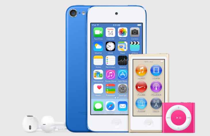 New iPod touch released today