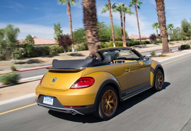 New look VW Beetle Dune review