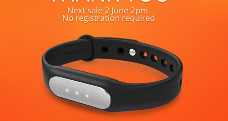 Next Mi Band sale in India is June 2, no registration