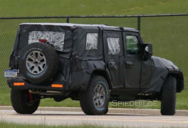 Next gen Jeep Wrangler release