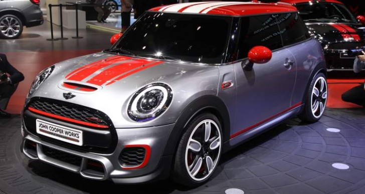 2015 Mini John Cooper Works performance boost