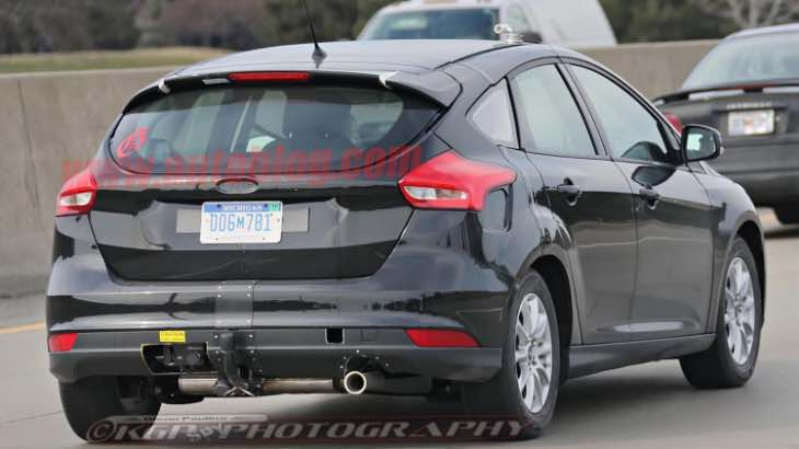 Next generation Ford Focus engines