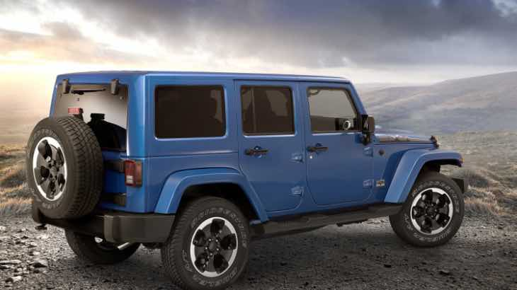 Next generation Jeep Wrangler