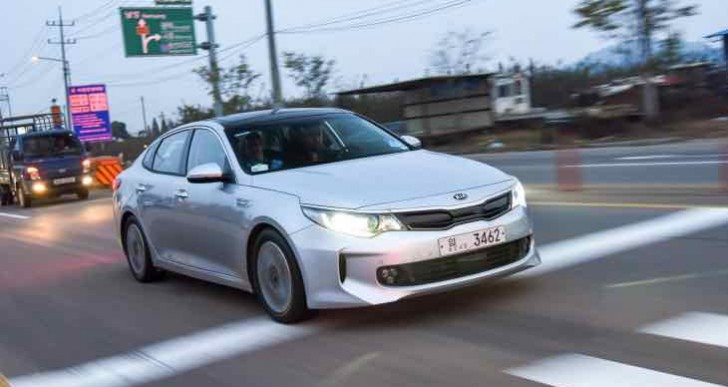 Next-generation Kia Optima powertrains, increasing electric range