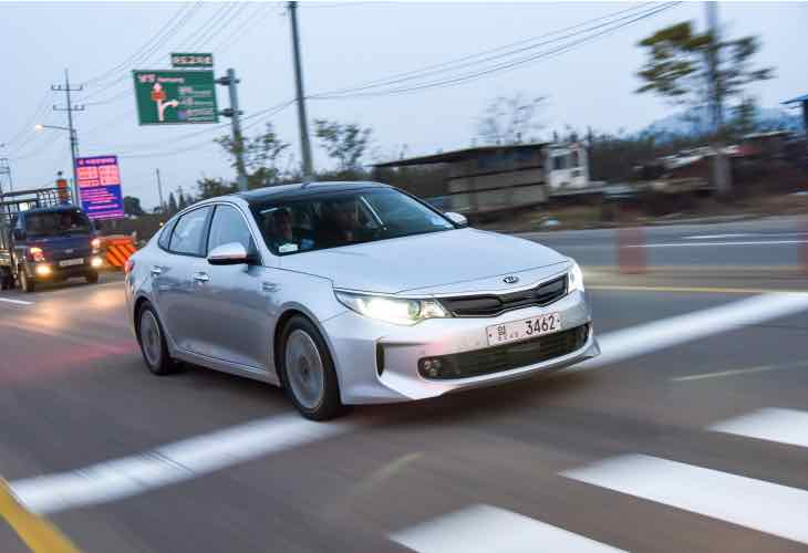 Next-generation Kia Optima