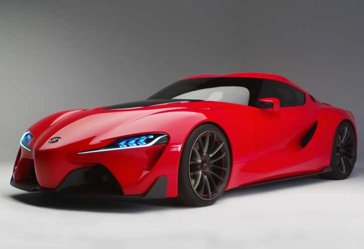 Next generation Lexus LFA release