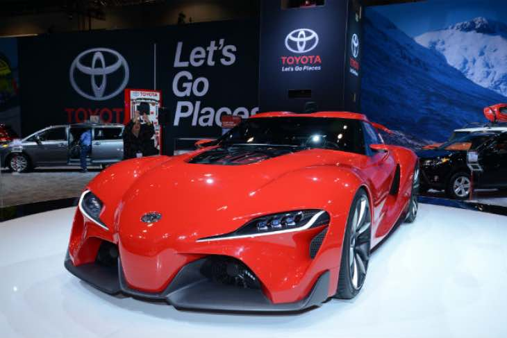 Next generation Toyota Supra engine