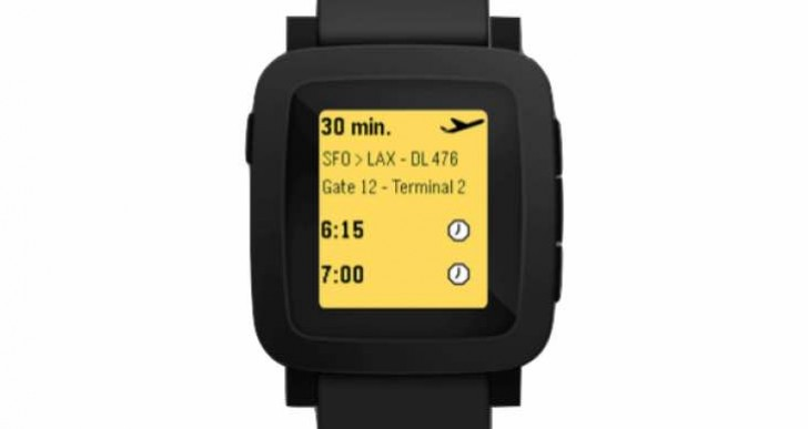 Next generation Pebble smartwatch image shows redesign