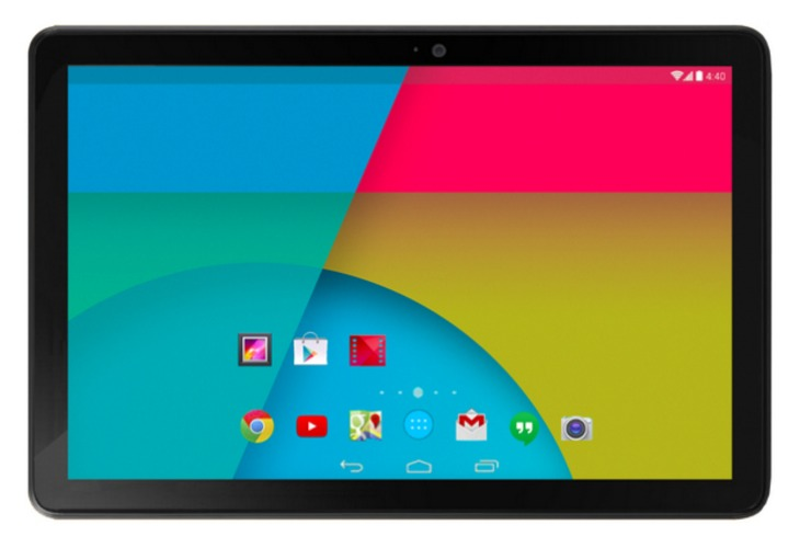 Nexus 10 availability updated
