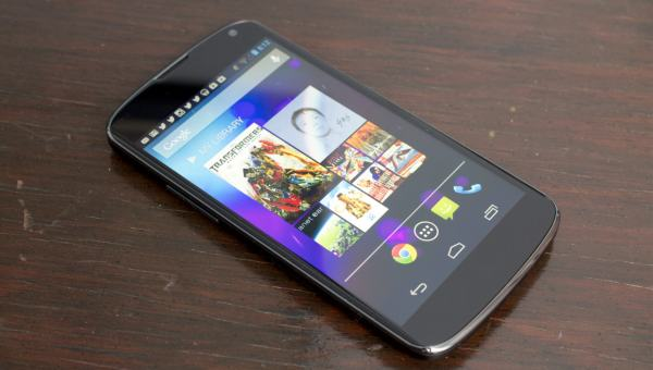 Nexus 4 allegedly back in stock today