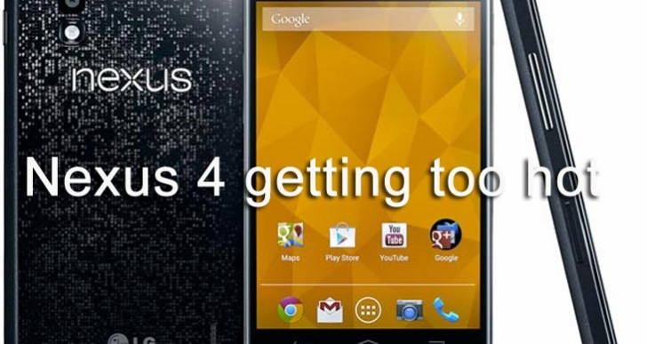 Nexus 4 getting too hot joins Android 4.3 update issues