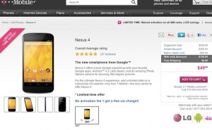 This Nexus 4 price drop is lowest yet
