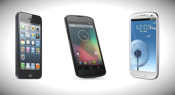 Nexus 4 vs. Galaxy S3 and iPhone 5, visuals decide