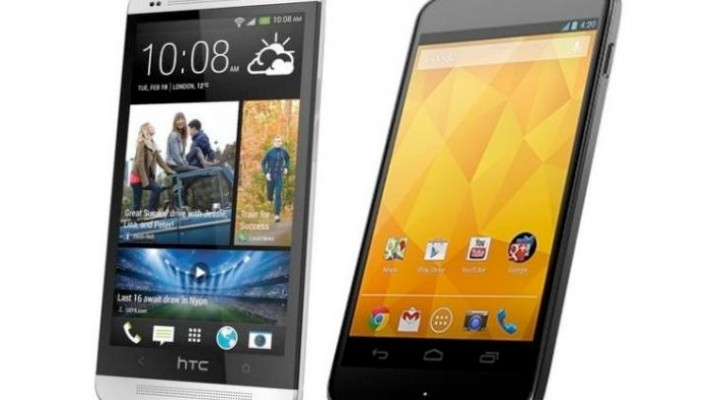 Nexus 4 vs. HTC One in performance review