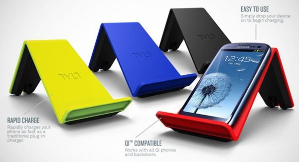 Nexus 4 wireless VU chargers from TYLT