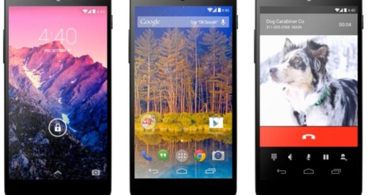Nexus 5 benchmark vs. iPhone 5S, Galaxy S4, LG G2