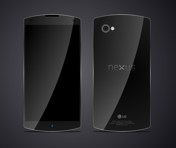 Yet another Nexus 5 concept, which we have to say is more plausible