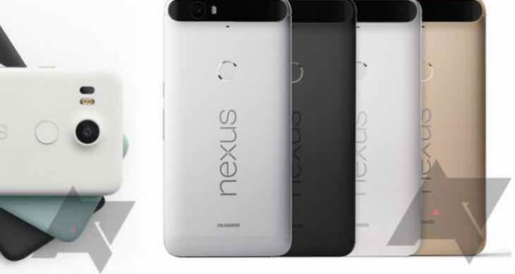 Nexus 5X, 6P pre-order time today on Google Play Store