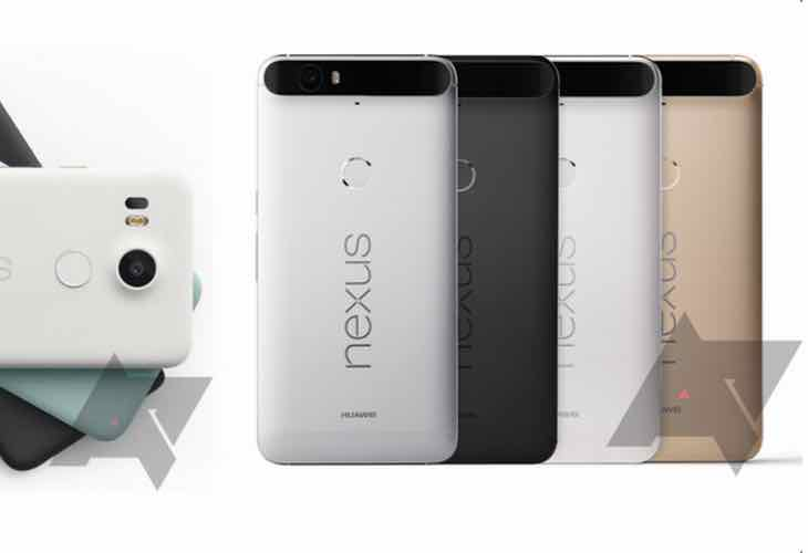 Nexus 5X, 6P pre-order time today