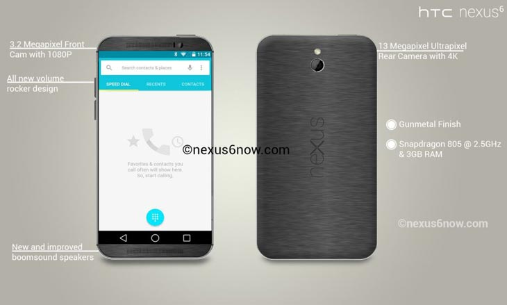 Nexus-6-varied-design-with-credible-specs