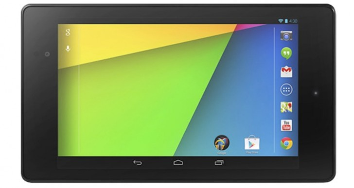 Nexus 7 2, 2013 refresh battery capacity and weight MIA