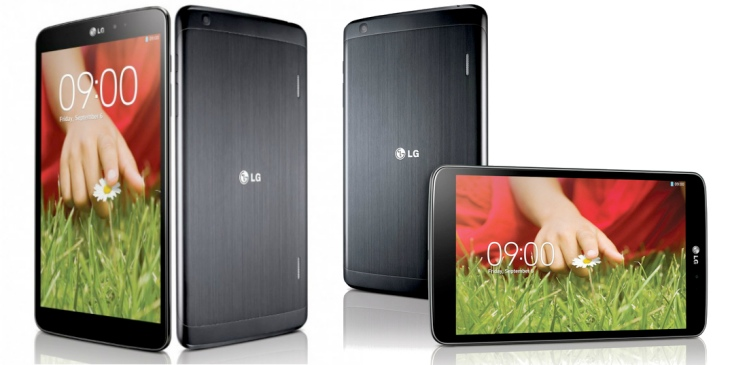 LG G Pad 8.3 is the first Full HD 8-inch tablet device