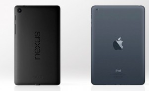 Nexus 7 2 vs. iPad Mini, specs analyzed on video