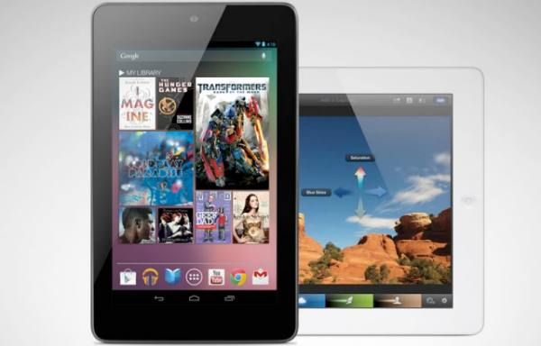 Nexus 7 outperforms iPad with price a driving factor