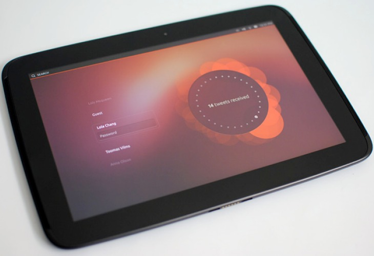 Nexus 7 tablet with Ubuntu Touch and problems