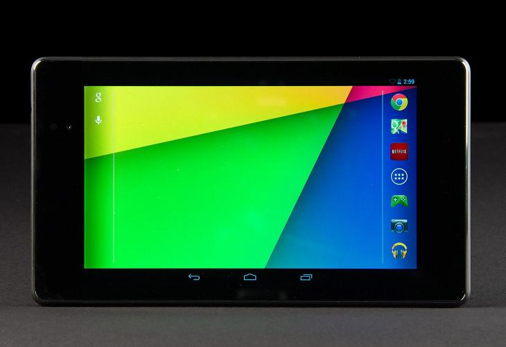 Nexus 7 voted best Android tablet in 2013