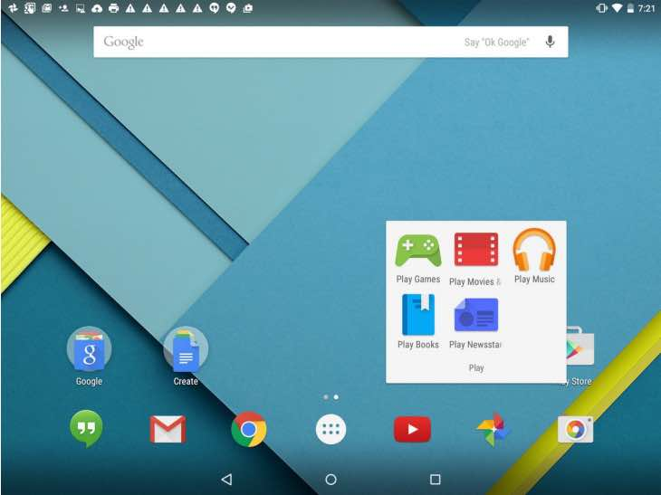 Nexus 9 Android 5.1 update
