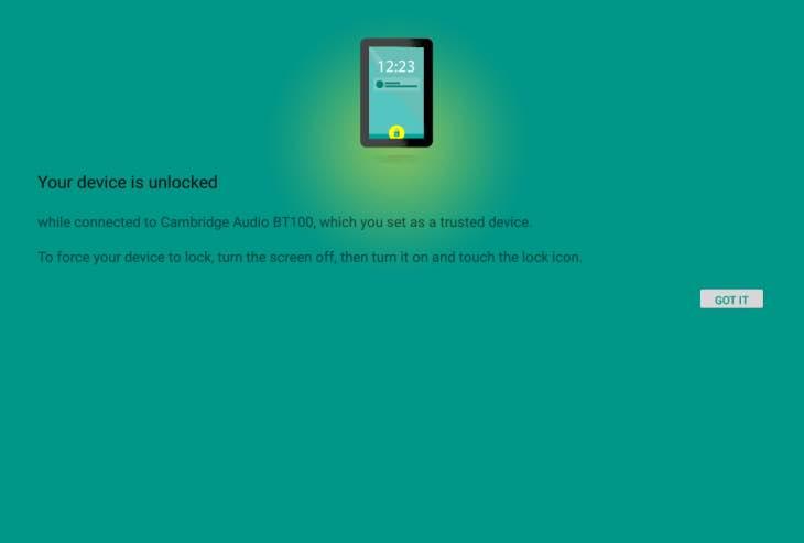 Nexus 9 security features