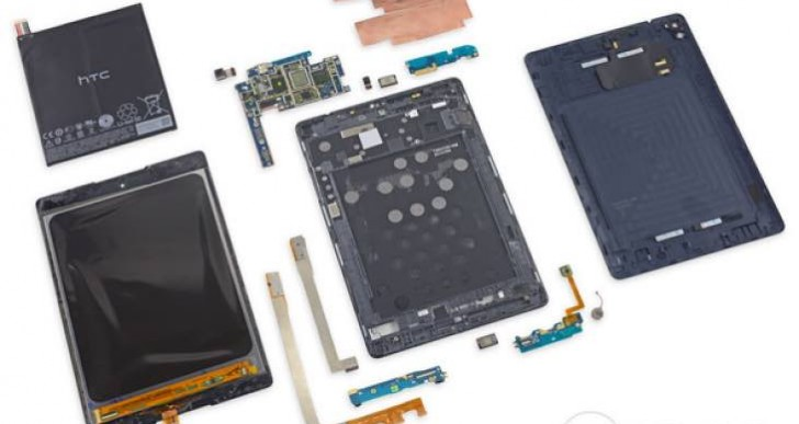 Nexus 9 teardown reveals problems hard to fix
