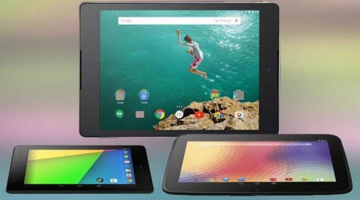 Nexus 9 vs iPad Mini vs Nexus 7, 10 specs comparison