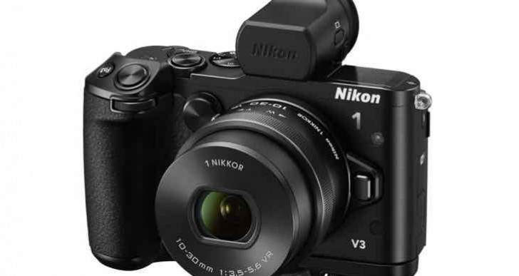 Nikon 1 V3 firmware update 1.10 live with notes