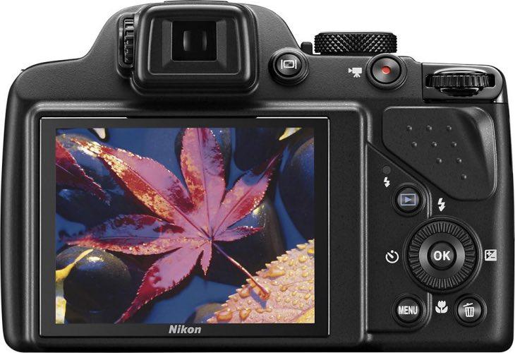 Nikon Coolpix P530 rear