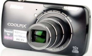 Nikon Coolpix S800c camera specs and video test