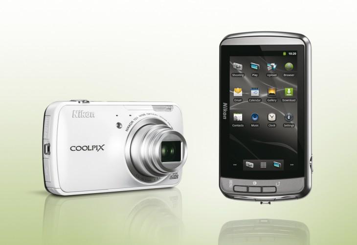 Nikon Coolpix S800c camera specs