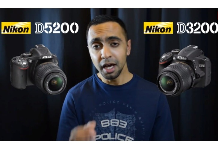 Nikon D3200 vs. D5200 specs and video review