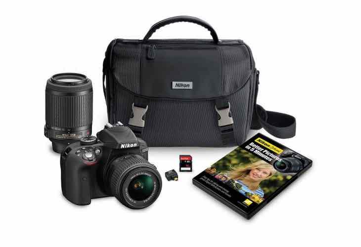 Nikon D3300 2 lens bundle