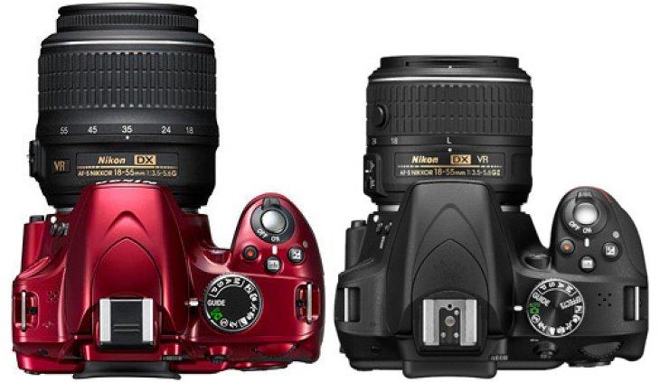 Nikon D3300 vs. 3200