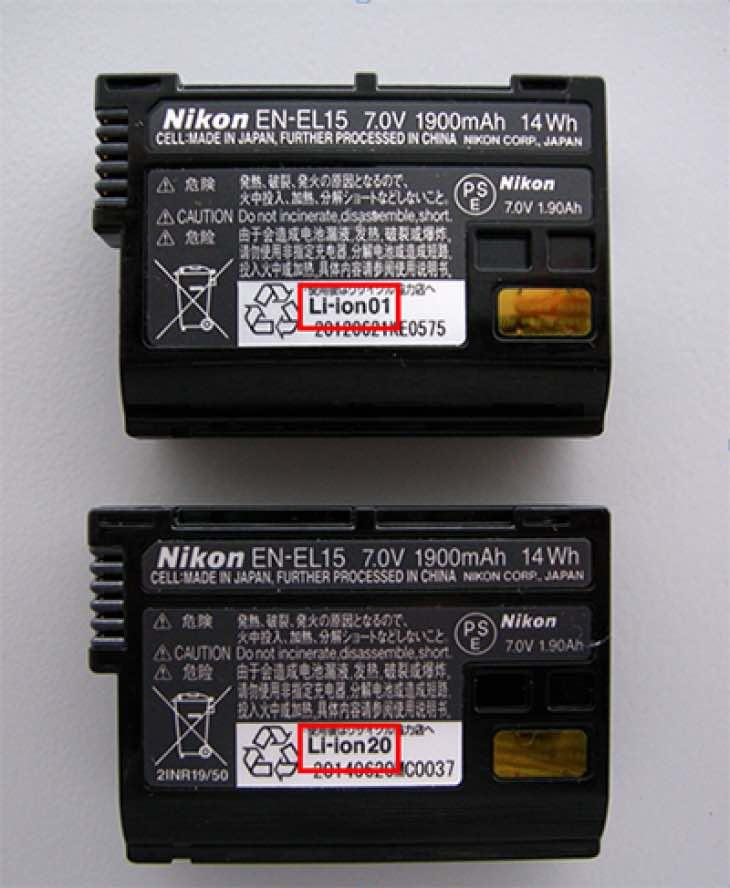Nikon D500 battery problem fix